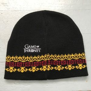 Game of Throne embroidered Lannister beanie